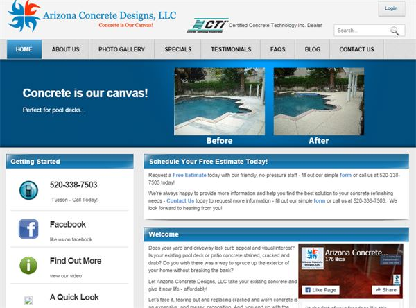 Arizona Concrete Designs