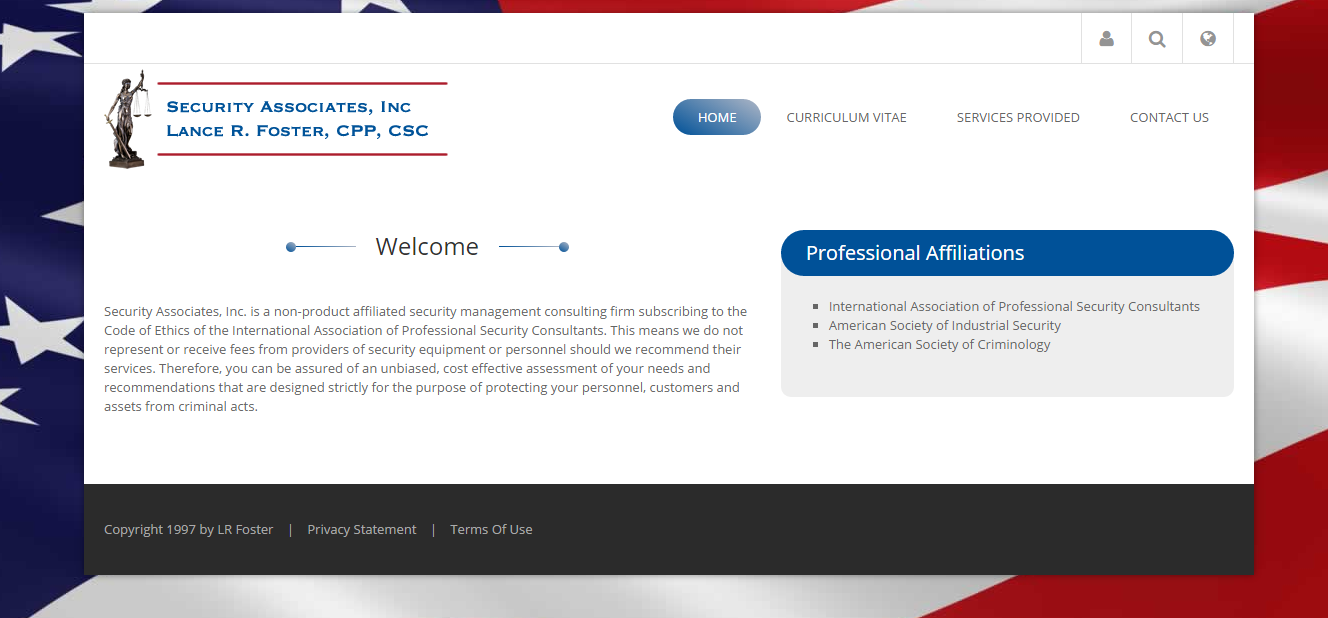 Security Associates Inc-New